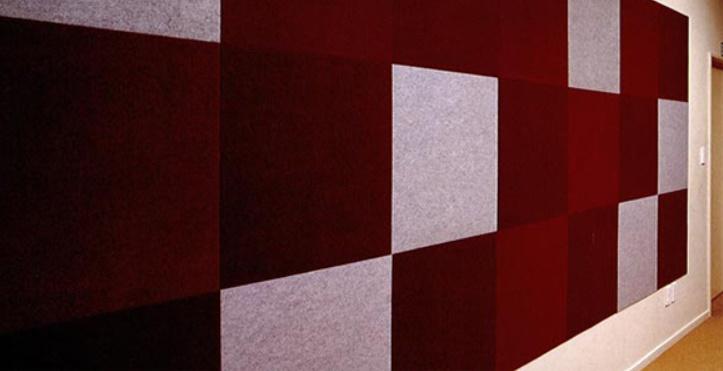 Akustik Kumaş Kaplı Panel